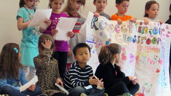 Skano first graders talk about how it's important to show respect, no matter where you are. Click here for more photos…