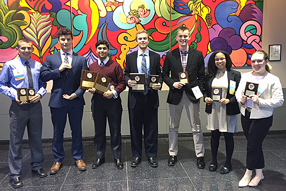 Seven HS FBLA members competed at the State Leadership Conference in Rochester. Congratulations to all of our winners.