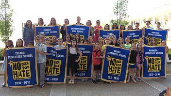 "Shen is first to receive the ""No Place For Hate"" recognition district-wide from the Anti-defamation League! More info…"