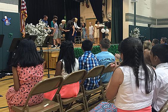 Shatekon Moving Up Ceremony