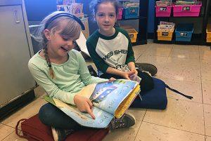 Chango book buddies enjoying some reading time.