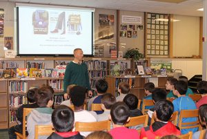 Koda grade 6 students meet with author Rob Buyeau!