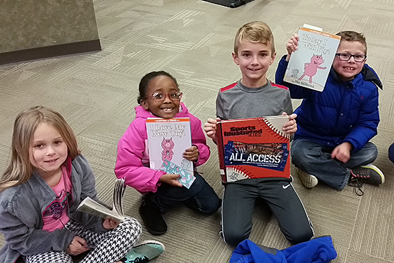 Okte's second graders enjoyed a field trip to the Clifton Park-Halfmoon Public Library!
