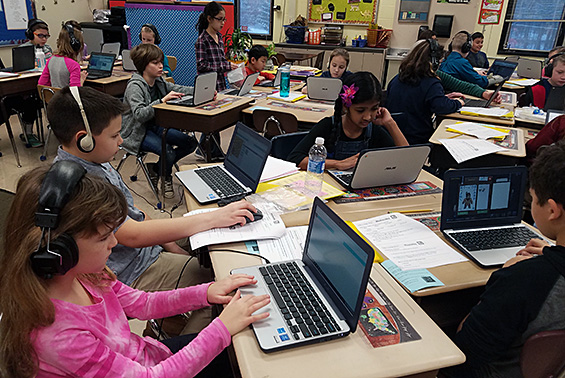 Okte and Karigon students that participated in Hour of Code