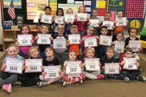 First grade Orenda students have been accepted into the Kinds Kids Club! Their assignment is to spread KINDNESS wherever they go!