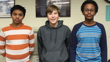Congratulations to the winners of Acadia's annual National Geographic Geography Bee.