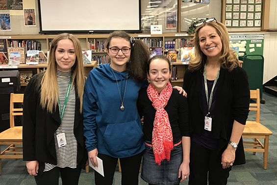 Congratulations to Gowana's Spelling Bee champ Jillian Aragones and runner up Emily Manny.