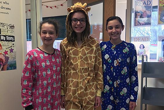 Gowana 7th graders participate in Spirit Week!