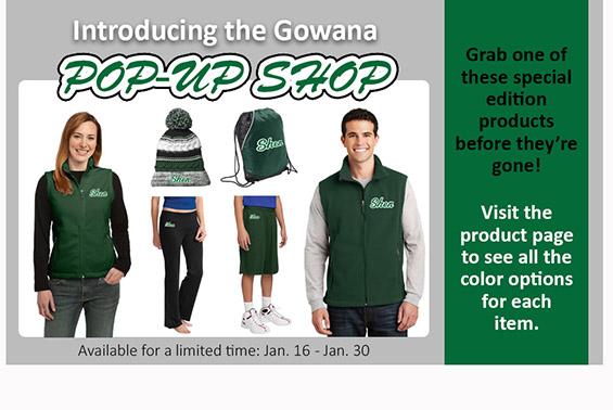 Gowana Pop Up Store