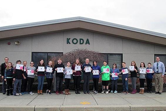 Congratulations to December Koda GEMS!