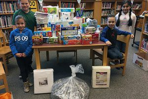 The Shatekon community collected donations for the Ronald McDonald House.