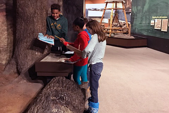 Acadia Team 7-2 students traveled to the Albany Pine Bush Discovery Center in Guilderland and the NYS Museum in Albany