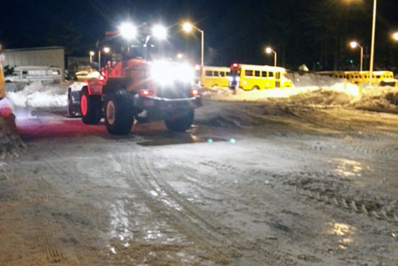 Special thanks for the gallant effort by the Shen transportation, facilities and grounds staff for their work in the wee hours to clear all the snow!