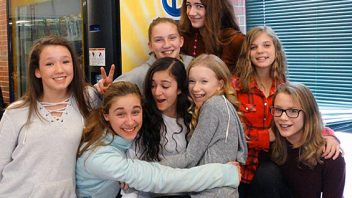 Gowana students truly do show a lot of love for each other in the month of February. More photos…
