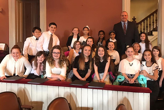 The Tesago Select Chorus was invited to perform at the annual CDYC (Capital District Youth Chorale) Choral Festival at the Troy Savings Bank Music Hall.