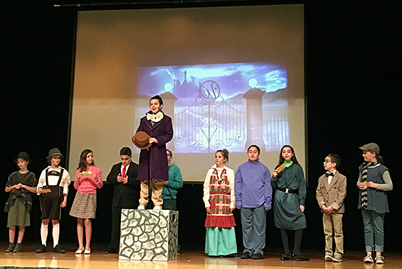 Okte's Drama Club proudly presented Willy Wonka Jr! Our students were exceptional budding actors! Many thanks to Directors Ms. Speirs and Mr. Wilkinson!