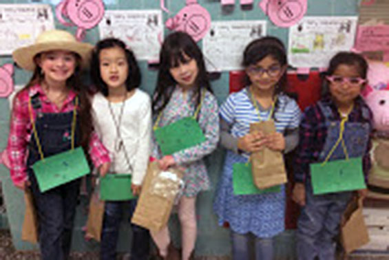 Orenda students have fun at the first grade County Fair!