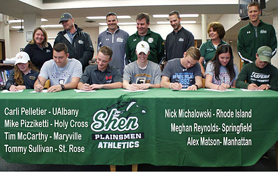 Congrats to these 7 student-athletes who signed their National Letter of Intent.