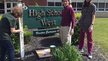 Shen High School Freshman Give Back Day. More photos…