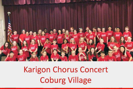 Karigon Chorus sang for the residents of Coburg Village