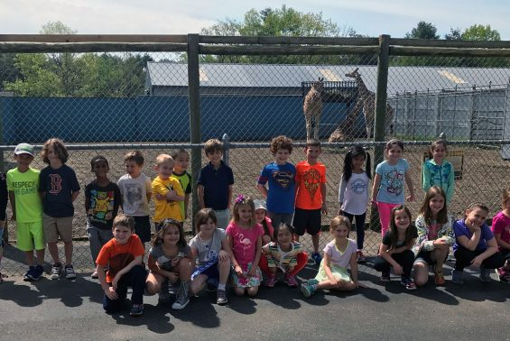 Karigon Visits Adirondack Animal Land. First grade students observed different animals and learned about their habitats.