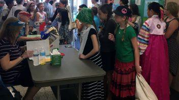 Fourth-grade Immigration Day at Karigon