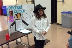 History came alive Mrs. Dineen's Gr. 5 class at Skano presented their Living Wax Museum to parents, peers and guests.