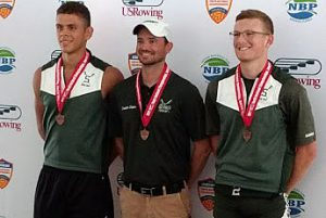 Shen Crew Team Members Michael Campone (senior) and Joshua Freitas (junior) won a Bronze medal at the US Youth National Rowing competition in Sarasota, Florida. Their coach is Sean O'Brien (Shen Alumni).