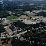 Aerial view of campus 1998