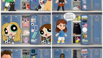 Lockers are a rite of passage for middle school. In 2020, Rebecca Plouff's art class took those lemons and mad lemonade. Seventh-grade students created a digital locker collage symbolizing their personalities and interest. More photos…