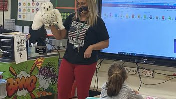 Tesago teacher Lisa Rayno uses the Heggerty and Fundations resources to engage students. More photos…