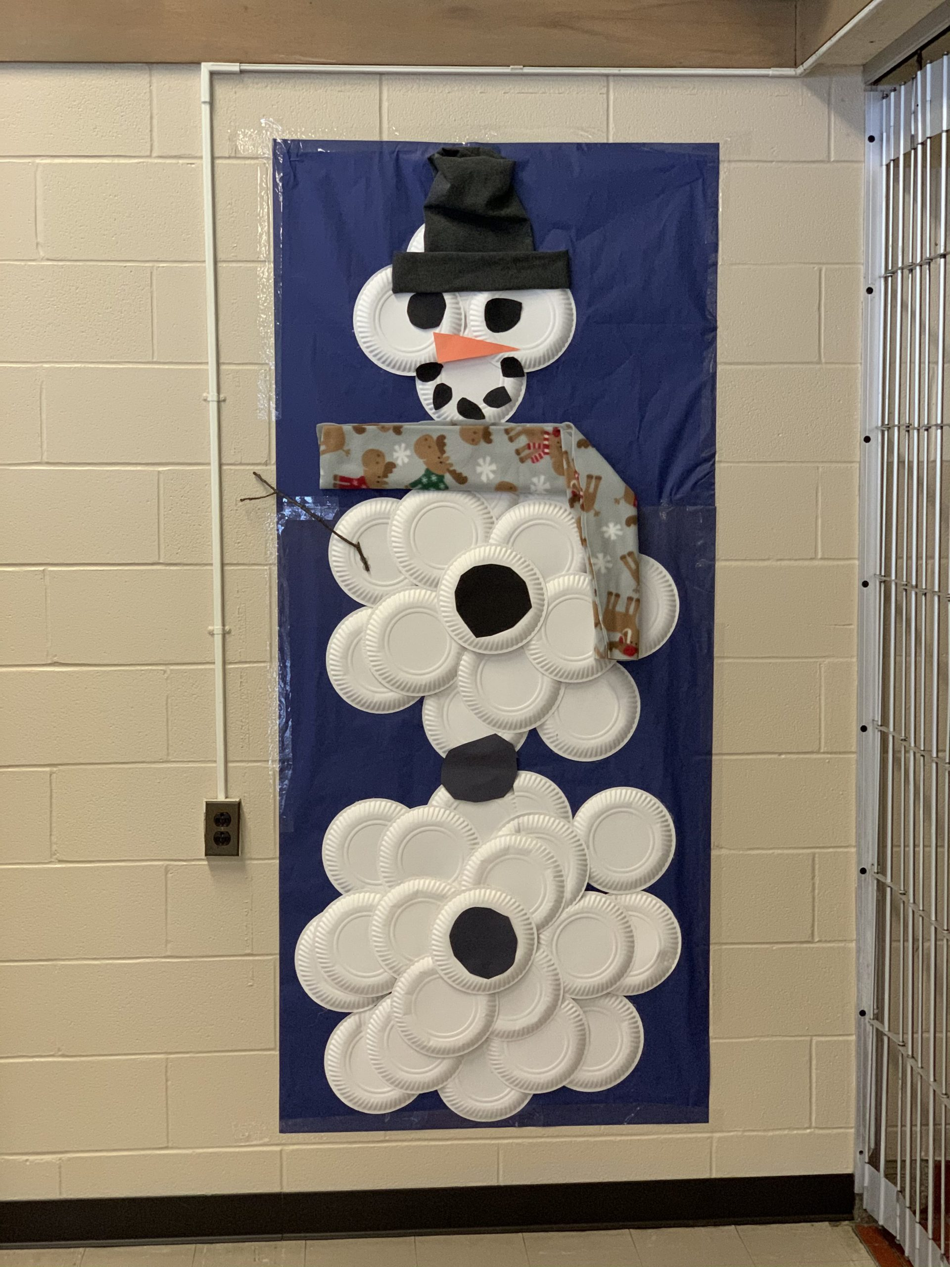 Students in Rebecca Perry's House & Interior Design class recently embarked on a Winter Decor Ambush, brightening up spaces in High School West using the design principles of balance, emphasis, proportion, and color pallet.
