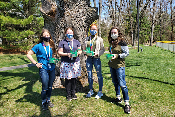 Congratulations to both high school Odyssey of the Mind teams for placing first in their division (high school level) at the RegionalTournament.