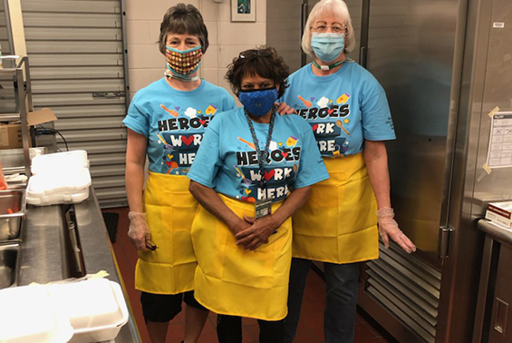 School Lunch Hero Day is a national celebration in honor of the hard-working individuals who prepare healthy meals to our students every single day.